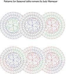 shop category digitized patterns for judy niemeyer quilts rh digitizedquiltingpatterns com seasonal table runners judy niemeyer