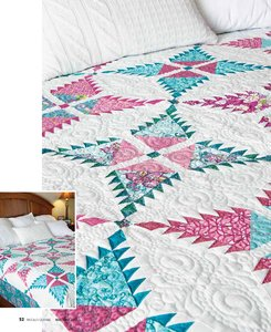 Konda Patterns featured on Quilt in McCalls